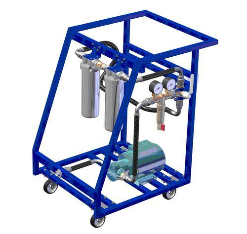 Малогабаритные фильтрующие системы для масла МФС-500-70