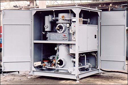 Обработка сушка и дегазация трансформаторного масла (турбинного, индустриальногоУВМ-6 У1