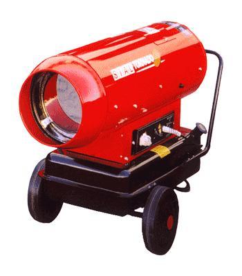 Жидкотопливный нагреватель непрямого нагрева серии Tornado 85