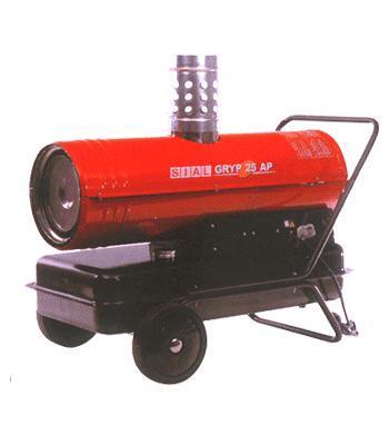 Жидкотопливный нагреватель непрямого нагрева серии Gryp 25 AP