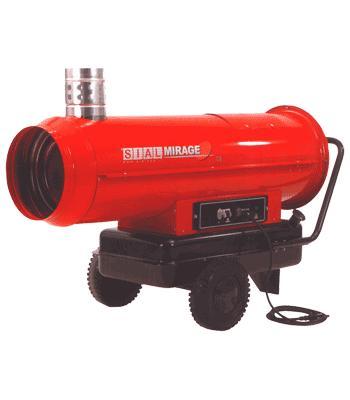 Жидкотопливный нагреватель непрямого нагрева серии Mirage 30 ST